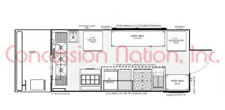 pizza shop floor plan floorplans food trucks fast food truck mobile kitchens
