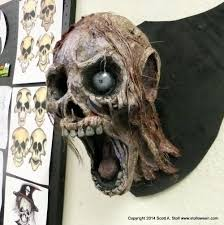 zombie trophy heads paper mache diy u0026 crafts pinterest paper