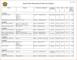 Jobs Resumes by 6 Blank Police Report Job Resumes Word