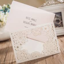 Invitation With Rsvp Card Amazon Com Wishmade 50x Ivory Laser Cut Wedding Invitations Cards