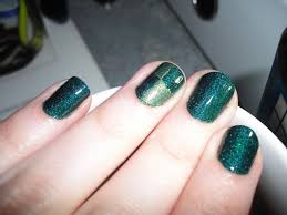nails of the day a england saint george with a dragon twist