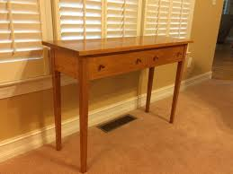 Hall Table Plans Cherry Hall Table Finewoodworking