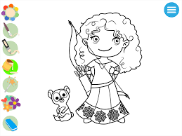 kids princess coloring book android apps on google play