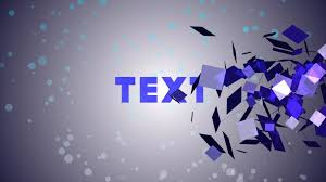 free particle text animation after effects template u0026 tutorial