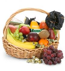 chocolate basket delivery sympathy fruit baskets by gifttree