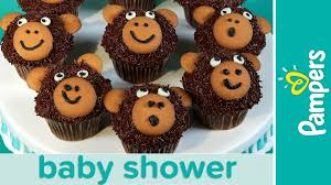 theme for baby shower jungle theme baby shower ideas monkey cupcakes pers