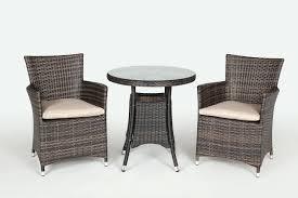 Mosaic Bistro Table Set Wooden Garden Bistro Set 3 Piece Terrace Table Outdoor Bistro