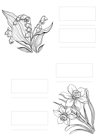 complicolor copic coloring flowers printable pages and coloring
