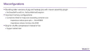 yahoo u0027s experience running pig on tez at scale
