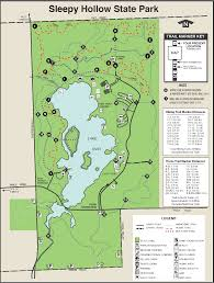 Michigan State Map Sleepy Hollow State Parkmaps U0026 Area Guide Shoreline Visitors Guide