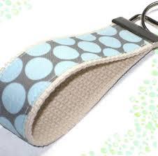 fabric key fob wrist key chain key fob wristlet keychain fabric fob sweet