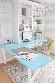 Teal Table L L Shaped Desk With Storage Foter