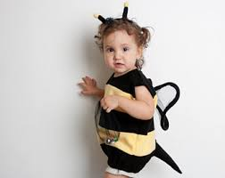 Toddler Halloween Costumes Girls Bumble Bee Costume Etsy