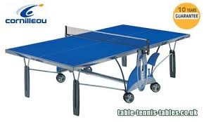 cornilleau indoor table tennis table cornilleau indoor outdoor table tennis table in epsom surrey