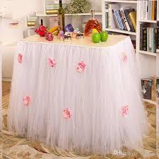 online cheap queen snowflake tutu table skirt custom winter
