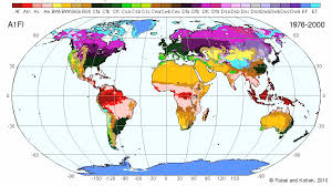 what is a climate map maps of köppen geiger climate classification