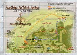 Lord Of The Rings Map Maps The Old Forest Quest Searching For Fresh Springs Lotro