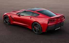 corvette 2014 corvette 2014 chevrolet corvette stingray in red rear three
