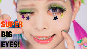 super big eyes makeup tutorial lashes u0026 hairstyle by kurebayashi