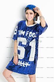 Cheap Summer Clothes For Women Summer Cheap Fashion Hip Hop Bling Sequin T Shirt Dress Long Women