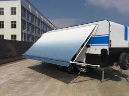 Wind Out Awning Vinyl Fabric Roll Out Caravan Awning Rv Awning From Awnlux