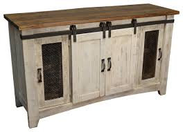 White Buffet Hutch Farmhouse Buffets And Sideboards Houzz