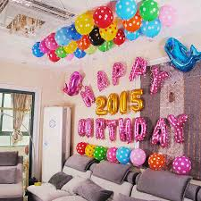 Wall Decoration With Balloons by 16 Inch Pink Or Blue 13pcs Letter Happy Birthday Foil Balloon