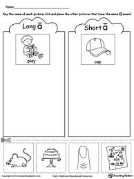 ideas collection kindergarten long vowel worksheets also cover