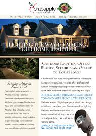 Landscape Lighting Cost by Lighting Crabapple Landscape Experts