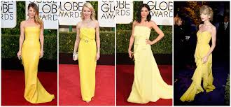 Colour Style by Golden Globes 2015 Style Blossom To Flourish