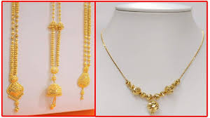 light chain necklace images Latest light weight gold necklace and daily wear gold chain jpg