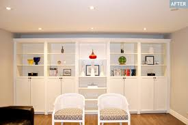 White Bookcases With Doors by Add Glass Doors To The Top Of The Bookshelves In Addition To The