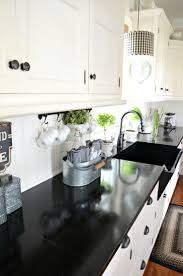 Farmhouse Cabinets For Kitchen Best 25 Black Kitchen Countertops Ideas On Pinterest Dark