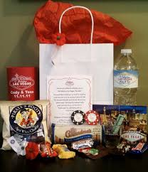 las vegas destination wedding thank your guests for traveling with these destination favors