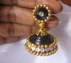 how to make jhumka earrings 47 paper earrings top 10 adorable diy paper earrings top