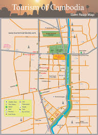 Map Of Cambodia Siem Reap City Map Cambodia Travel Maps Plan Your Trip To