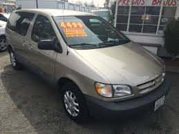 2000 toyota sienna check engine light 2000 toyota sienna ce 3dr mini van in fontana ca a plus auto of