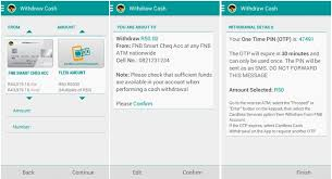 fnb cardless cash withdrawal launched