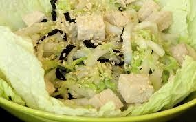 comment cuisiner le chou chinois recette salade chinoise simple salade chinoise aux crevettes with