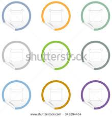 flat chair icon on sticker floor stock vector 351980558 shutterstock