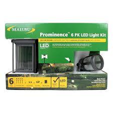 Landscape Lighting Cable by Amazon Com Malibu Prominence 6 Pack Led Light Kit These