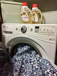 Duvet In Washing Machine Putting Tide Purclean To The Test Urban Mommies