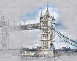 free illustration architecture tower bridge free image on