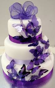 purple wedding cakes picture 1 wedding hairstyles hq best