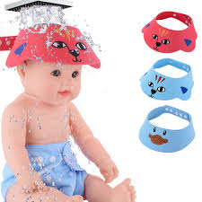 baby shower hat shoo cap baby shower hat bathing visor for kids bath