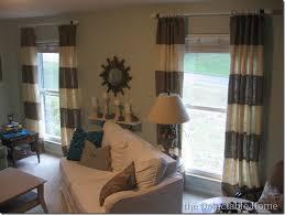 Brown Burlap Curtains The Delectable Home Burlap Curtains Tutorial