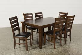 Dining Chairs Sets Side And Arm Chairs Bradford 7 Piece Dining Set W Bardstown Side Chairs Living Spaces