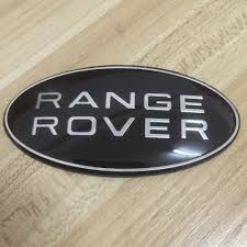land rover logo black 200x black green emblem badge decal car sticker range rover
