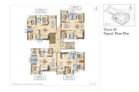 salarpuria sattva divinity 1 2 and 3 bhk floor plans at mysore