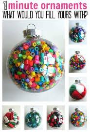 1 minute ornaments ornament clear plastic ornaments and
